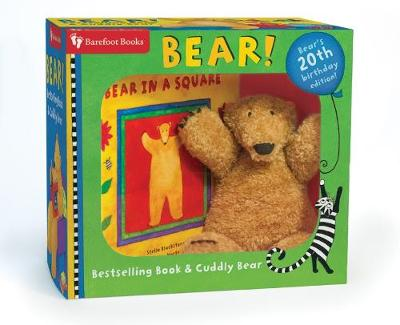Bear in a Square Board Book and Cuddley Bear Set