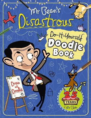 Mr Bean's Disastrous DIY Doodle Book