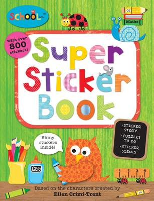 Schoolies Super Sticker Book