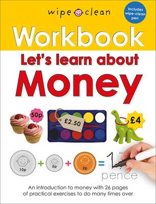 Wipe Clean Workbooks: Let's Learn About Money