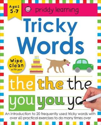 Tricky Words: Wipe Clean Workbooks