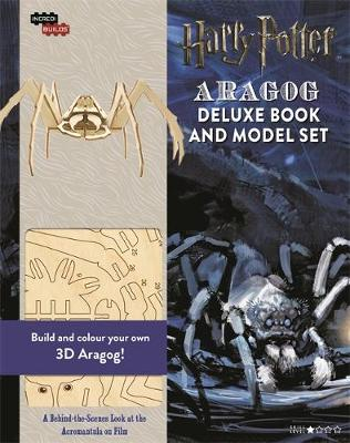 IncrediBuilds: Aragog: Deluxe model and book set