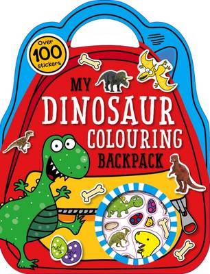 My Dinosaur Colouring Backpack: Colouring and Sticker Books