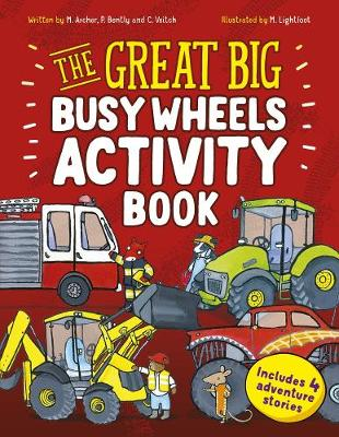 The Great Big Busy Wheels Activity Book