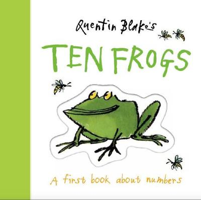 Quentin Blake's Ten Frogs (Board Book)