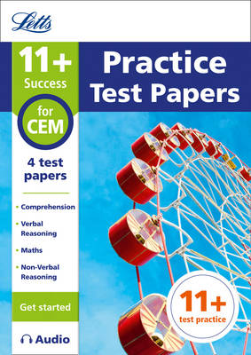 11+ Practice Test Papers (Get started) for the CEM tests inc. Audio Download