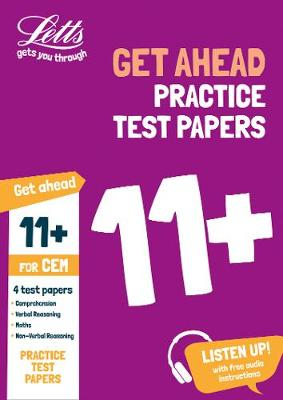 11+ Practice Test Papers (Get ahead) for the CEM tests inc. Audio Download