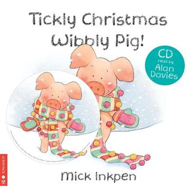 Tickly Christmas Wibbly Pig: Book & CD