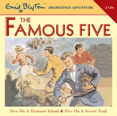 Famous Five on Treasure Island and Famous Five on Secret Trail