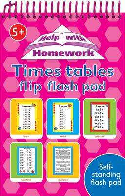 Flip Flash Pads Times Tables 3+