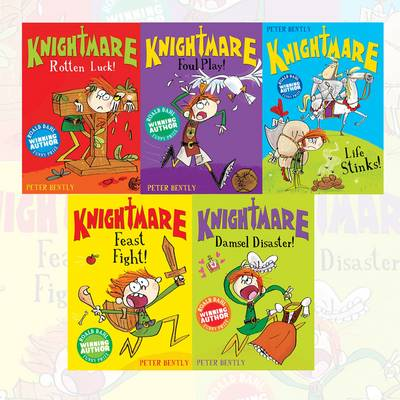 Knightmare 5 Book Set (Plodit)