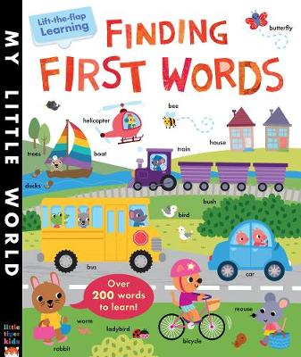 Finding First Words: A lift-the-flap learning book