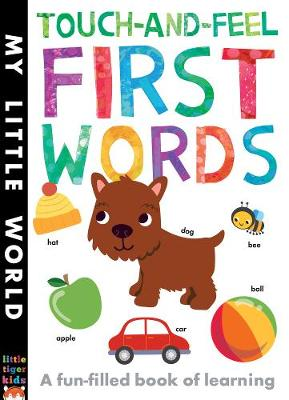 Touch-and-feel First Words: A Fun-filled Book of First Words