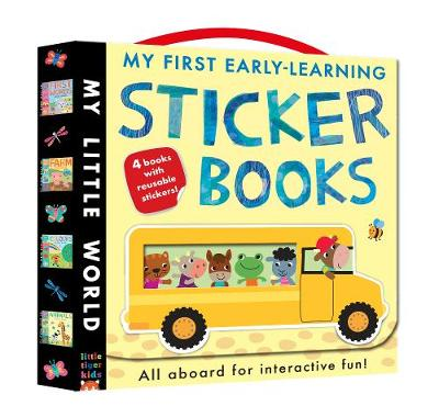 My First Early-learning Sticker Books: Hop on board for interactive fun!