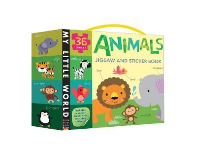 Animals Jigsaw and Sticker Book