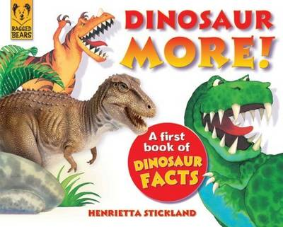 Dinosaur More: A First Book of Dinosaur Facts
