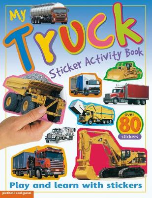 My Truck Sticker Activity Book