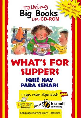 Early Start Big Book CD-ROM What's for Supper? Spanish