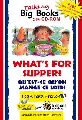 Early Start Big Book CD-ROM What's for Supper? French