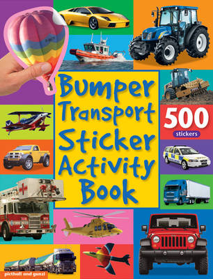 Bumper Transport Sticker Activity Book