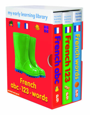 French Boxed Set: French ABC, French 123, French Words