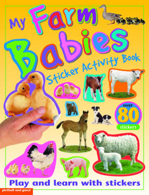 My Farm Babies Sticker Activity Book