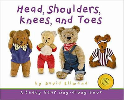 Head, Shoulders, Knees and Toes Sound book Teddy Sound book