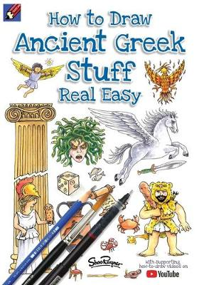 How to Draw Ancient Greek Stuff Real Easy: Easy Step by Step Drawing Guide