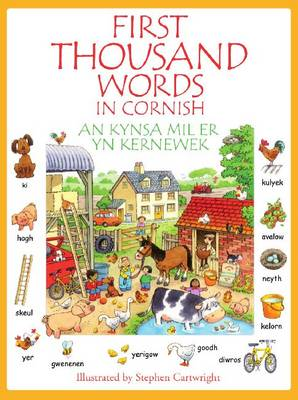 Kynsa Mil Er yn Kernewek: First Thousand Words in Cornish
