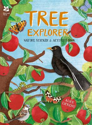 Tree Explorer: Nature Sticker & Activity Book