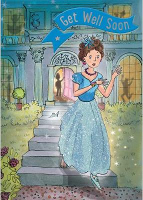 Cinderella - Get Well Card-Book: 6 Card-Book Pack