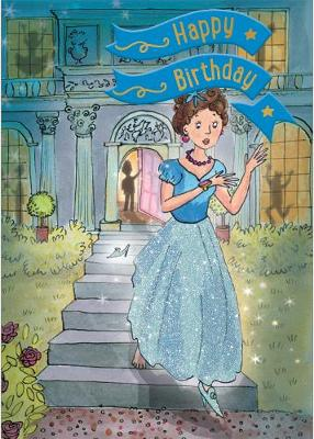Cinderella - Happy Birthday Card-Book: 6 Card-Book Pack