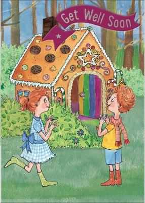 Hansel & Gretel - Get Well Card-Book: 6 Card-Book Pack
