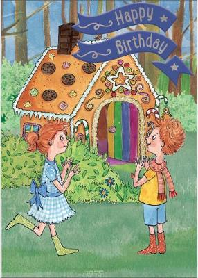 Hansel & Gretel - Happy Birthday Card-Book: 6 Card-Book Pack