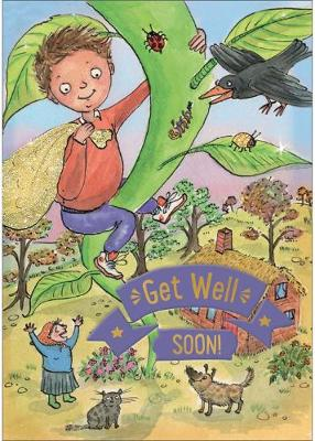 Jack and the Beanstalk - Get Well Card-Book: 6 Card-Book Pack