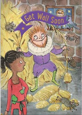 Rumplestiltskin - Get Well Card-Book: 6 Card-Book Pack