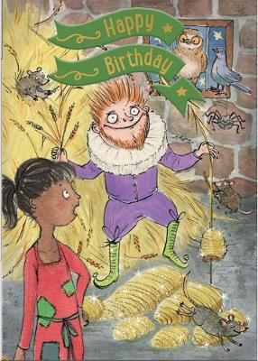 Rumplestiltskin - Happy Birthday Card-Book: 6 Card-Book Pack