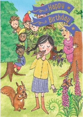 Snow White - Happy Birthday Card-Book: 6 Card-Book Pack