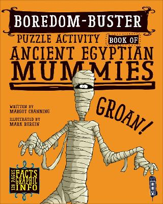 Boredom Buster Puzzle Activity Book of Ancient Egyptian Mummies
