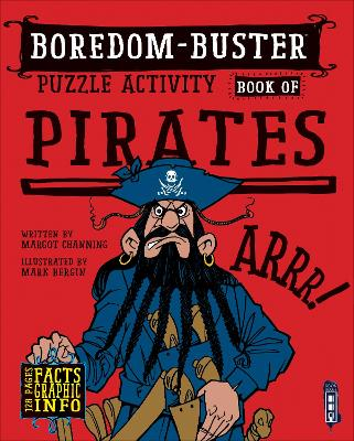Boredom Buster Puzzle Activity Book of Pirates