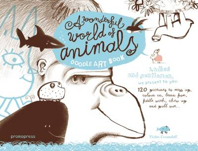 Doodle Art Book: My Wonderful World of Animals
