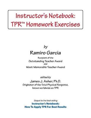Instructor's Notebook: Tpr Homework Exercises