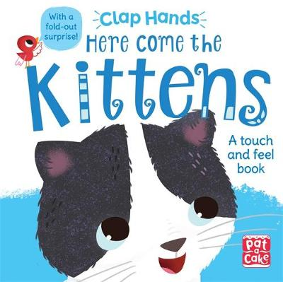 Clap Hands: Here Come the Kittens: A touch-and-feel board book with a fold-out surprise