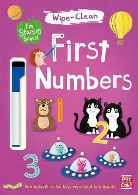 I'm Starting School: First Numbers: Wipe-clean book with pen