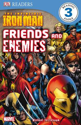 The Invincible Iron Man Friends and Enemies