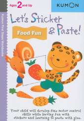 Let's Sticker and Paste!  Food Fun