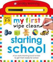 My First Wipe Clean Starting School