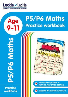 P5/P6 Maths Practice Workbook: Extra Practice for Cfe Primary School English