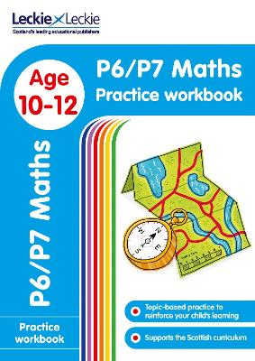 P6/P7 Maths Practice Workbook: Extra Practice for Cfe Primary School English