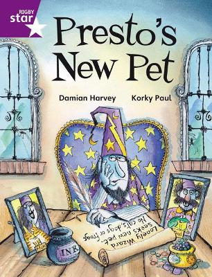 Rigby Star Independent Purple Reader 2 Presto's New Pet